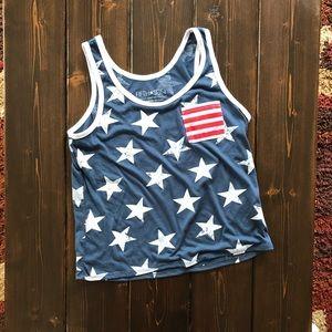 Fifth Sun USA Stars and Strips Tank